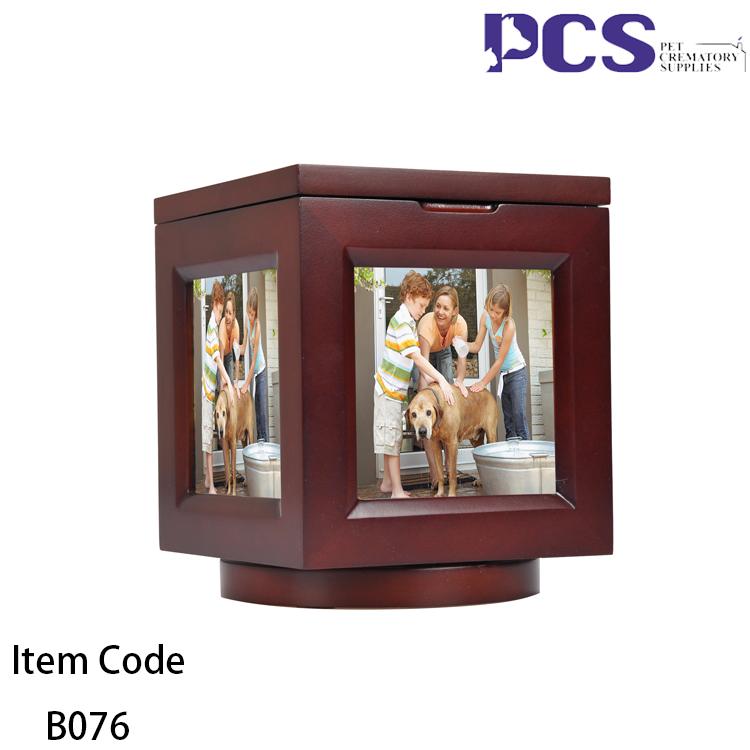 Caixas De Cubo De Fotos Rotativas