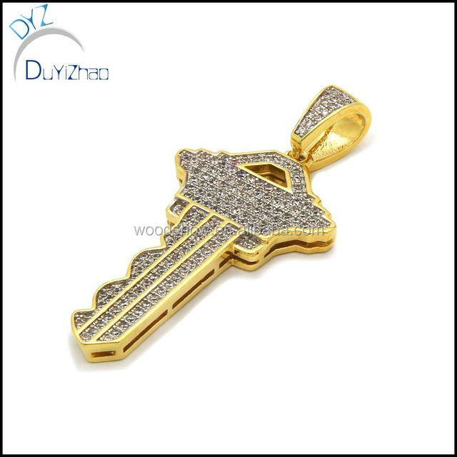 Buy cheap china necklace key products find china necklace key mens hip hop gold cross key pendant necklaces aloadofball Image collections