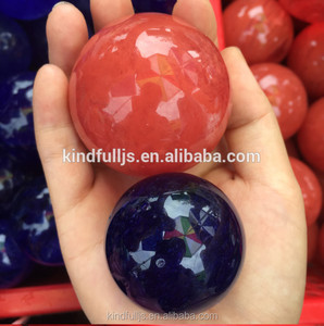 Wholesale Healing Melting Ball Sphere Glass Artifical Crystal For Decoration