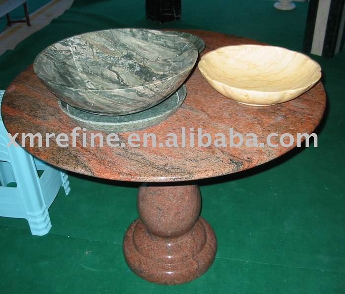 table top (round top, marble)