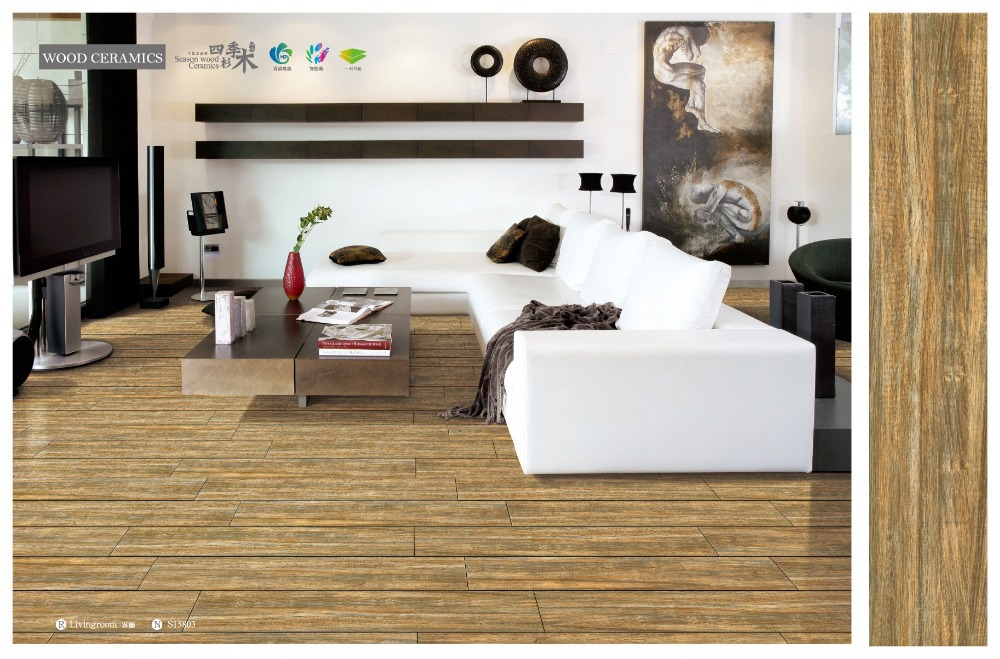 Natural 6x30inch Wood Plank Hand Scraped Porcelain Tile Buy