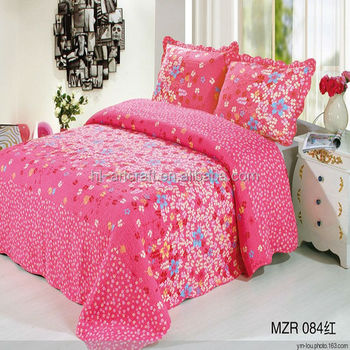Hot Sell New Style Popular Fabric Bed Sheet Hand Work