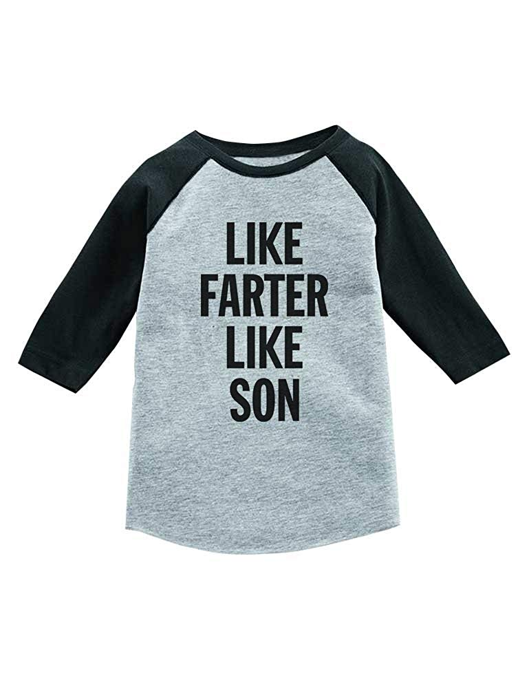 Like Son Dark Muscle Shirt TooLoud Matching Like Father Like Son Design
