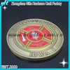 Loyal To Our Duty Red Knights and Blue Knights metal old coin soft enamel souvenir coin