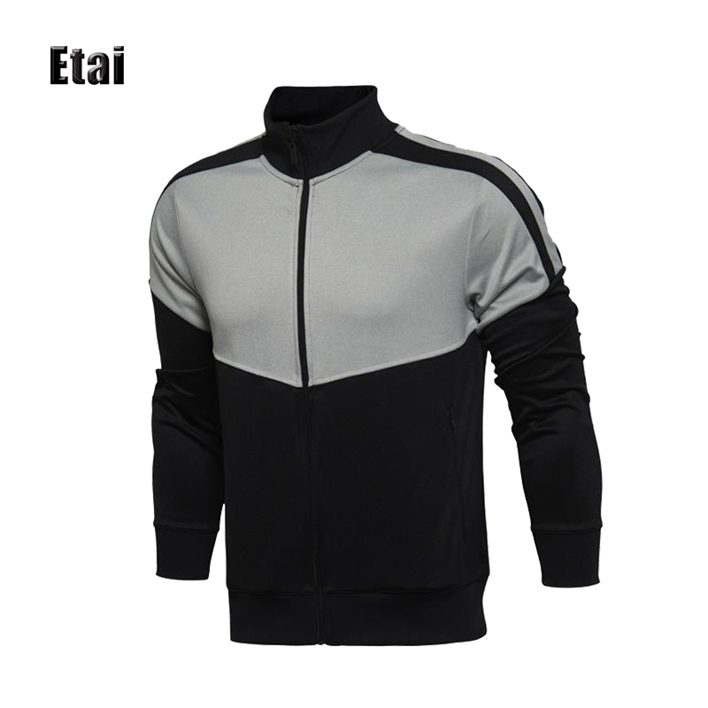 Manufacturer Wholesale Zip Up Hoodie Outwear Without Hood For Men