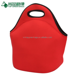 Fashion neoprene lunch tote bag promo insulated cool bag
