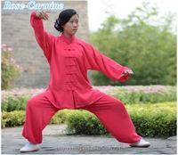 Martial Arts TaiChi clothes Chinese Traditional silk kung fu uniform