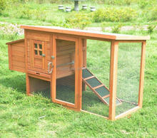 outdoor wooden chicken house