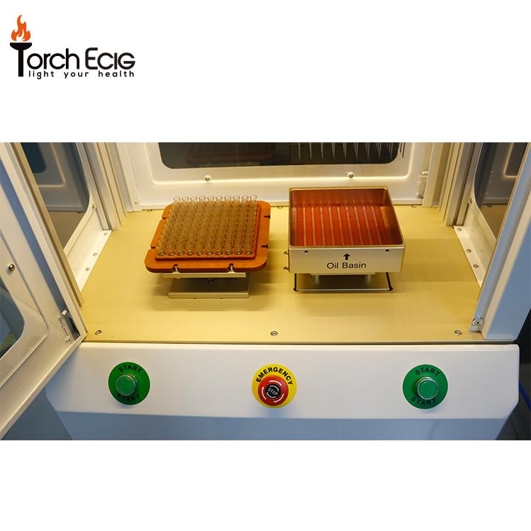 Özel deneyimli üretici 510 iplik kartuşu vape pod tek kullanımlık kalem kenevir cbd yağ dolum makinası