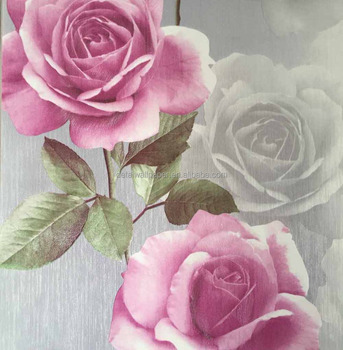 Mural Wallpaper 3d Nature Rose Flower Wallpaper Buy Mural