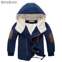 TONGYANG Kids coat 2019 Autumn Winter Boys Jacket for Boys Children Clothing Hooded Outerwear Baby Boy Clothes