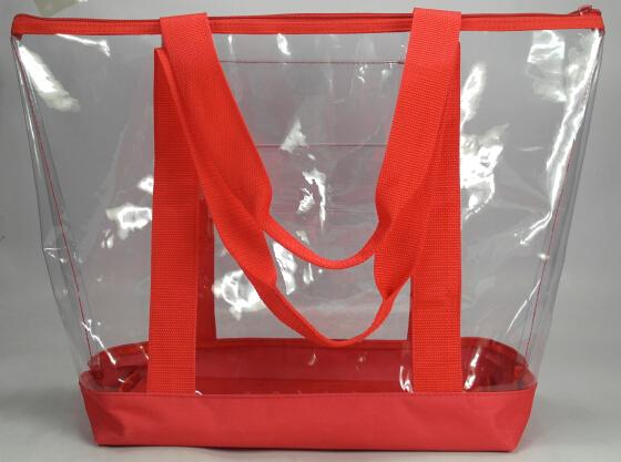 여름 대용량 PVC 비치 가방 pvc 쇼핑 가방 수영 핸드백
