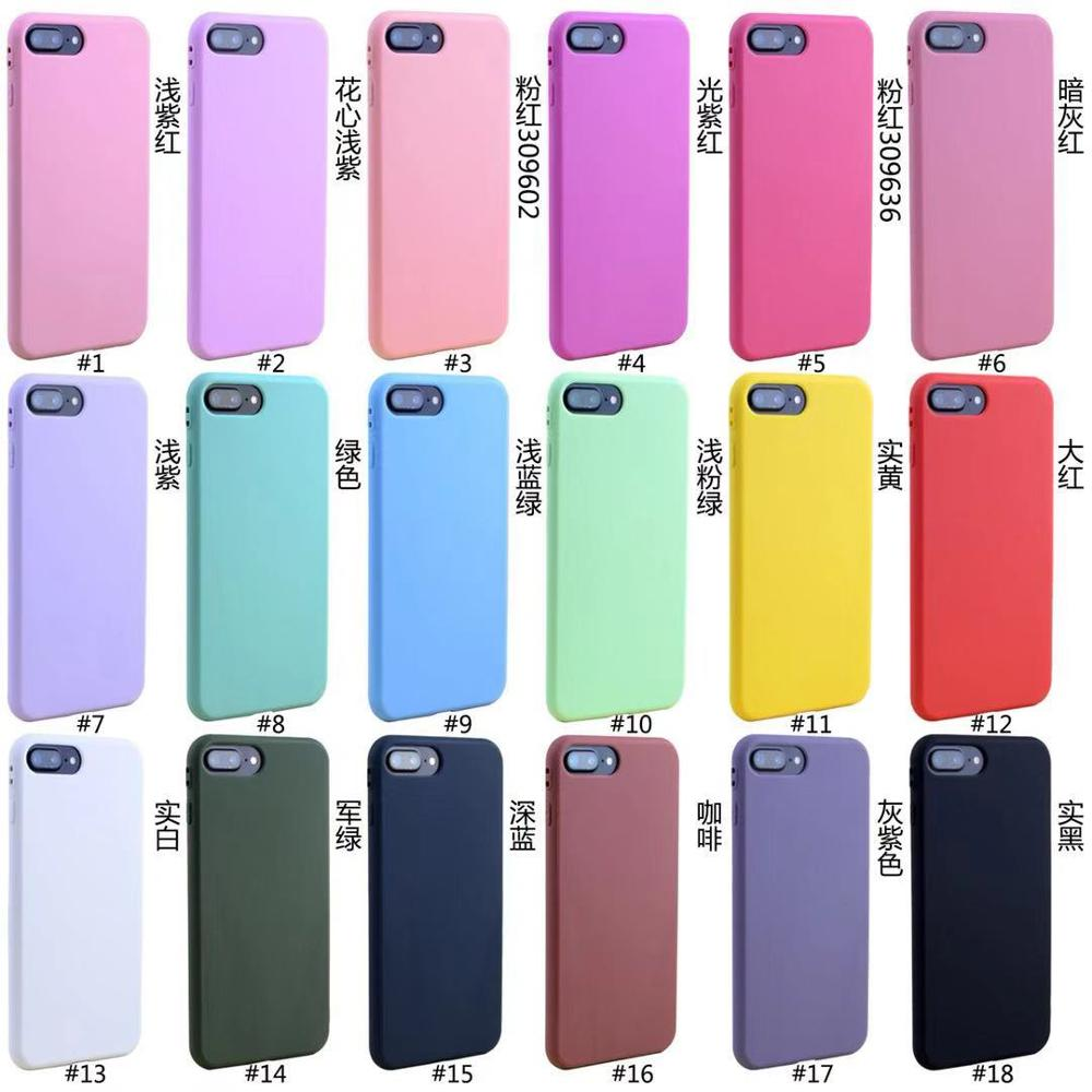 HUYSHE groothandel luxe silicone 1.5mm bulk TPU mobiele telefoon case voor iPhone 6 7 8 X XR XS 11 pro max achterkant.