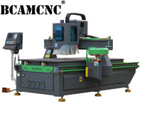 auto tool changer carousel atc cnc router with Italy hsd spindle