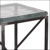 Decorative modern cast glass top coffee table prices