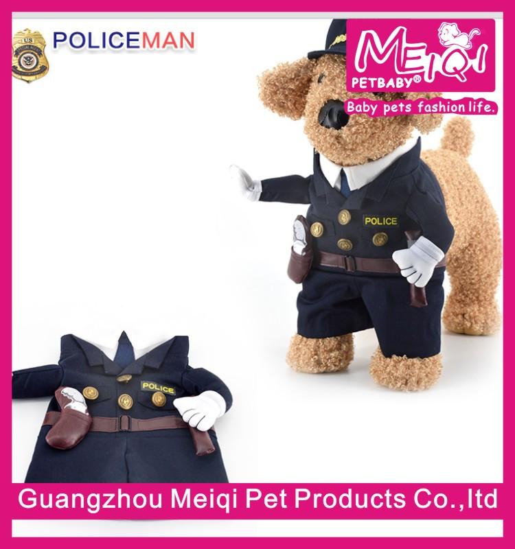 police chien v tements pas cher usine de v tements pour animaux chien costume v tements pour. Black Bedroom Furniture Sets. Home Design Ideas