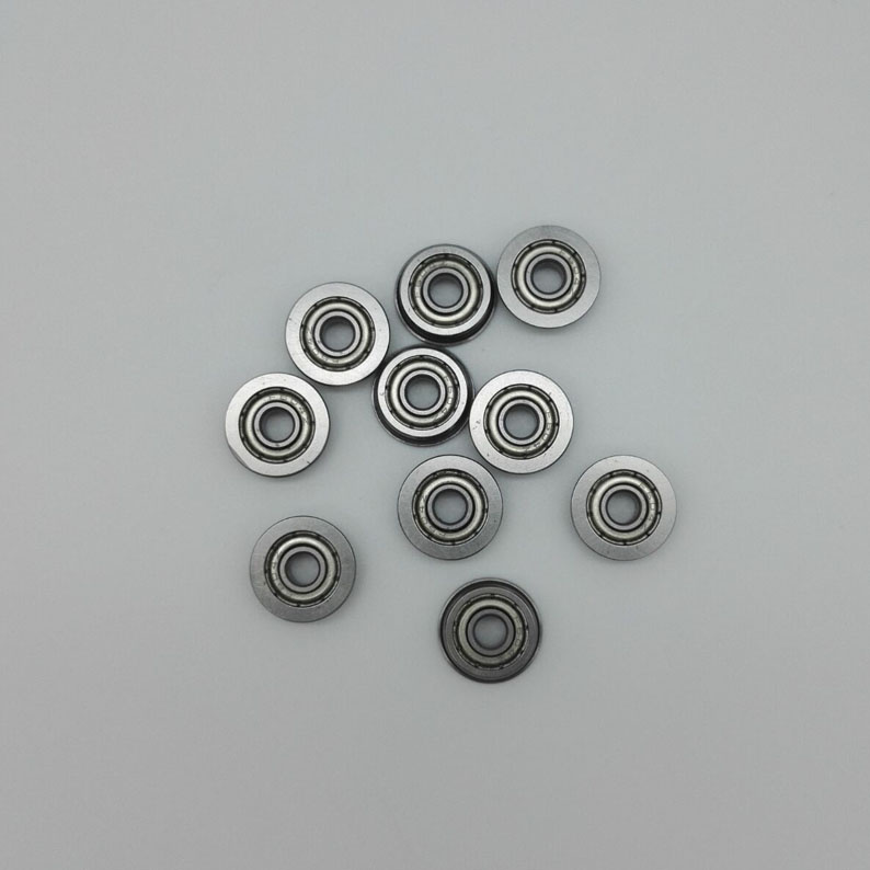 Flange deep groove ball <strong>bearing</strong> F6810 50*65*7mm 100pcs/lot