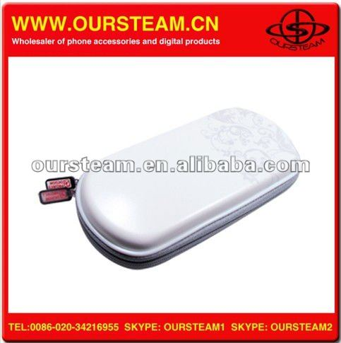 project design White Custom Case game pouch For psp slim IN STOCK