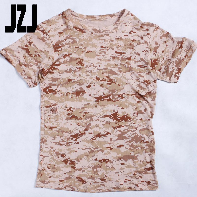 Orologi E Gioielli Men Summer Short Sleeve Cotton Military Tactical T Shirt Outdoor Camping Sports T-shirts Digital Desert Camo Elegant And Graceful