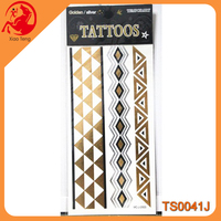 unique design tattoo,rhinestone body sticker,gilding tattoo sticker