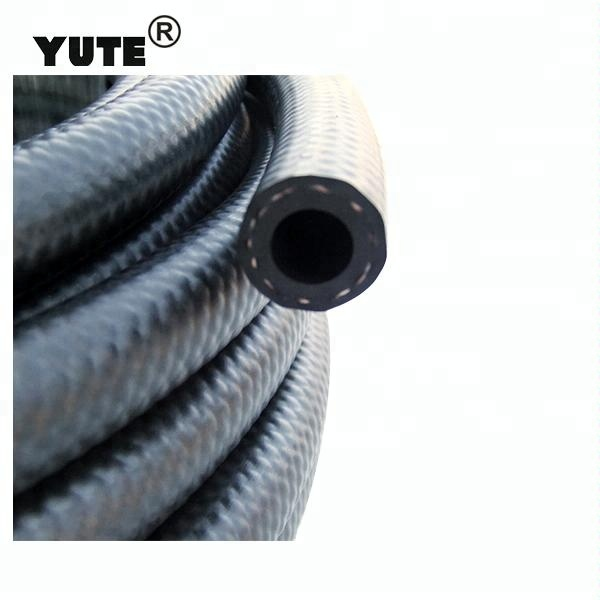 6mm Fuel Rubber Hose SAEJ30R6 Fuel Petrol Diesel Unleaded Injection Pipe+Clips