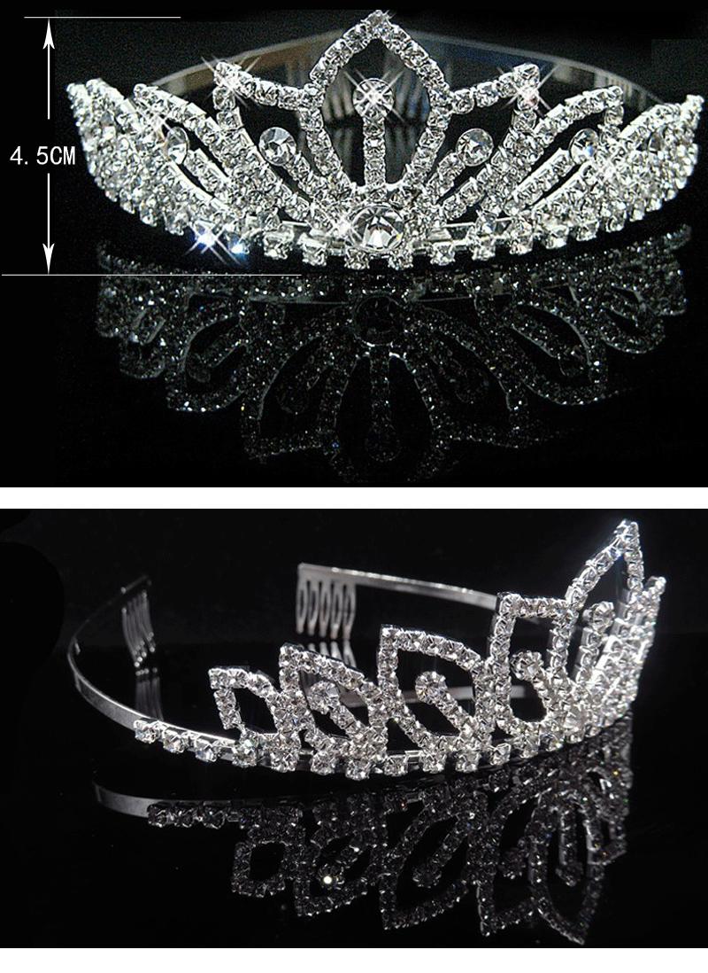 Crown Diamant Brautschmuck Kinder Stirnband,Haarband Strass Crown ...
