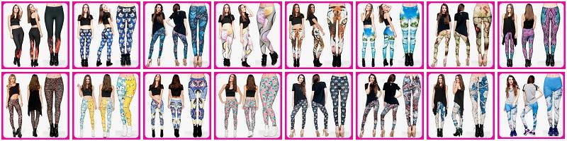 41555d125f4d8 Alibaba wholesale Custom Fast Food Comix 3D Digital Fitness Tights Print  Plus Size Print Leggings for