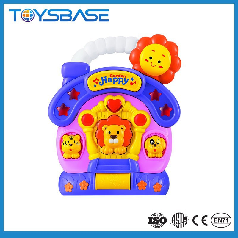 Fashion baby lion animal electronic musical toy