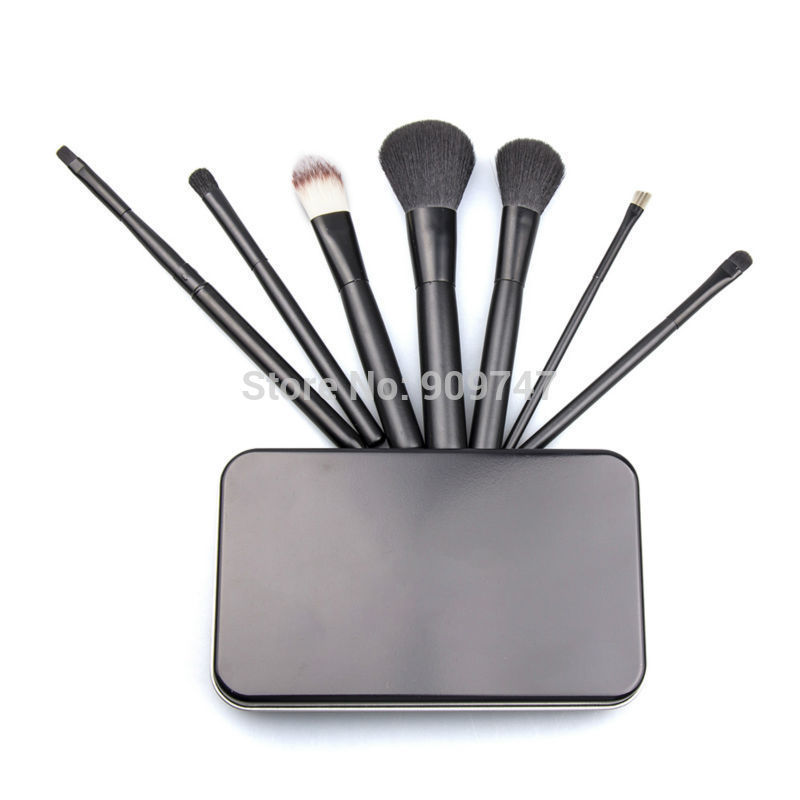 1Set/7pcs Styling Tools Super soft makeup brushes set blush blending eye shadow brush cosmetic brush kits tools with black box