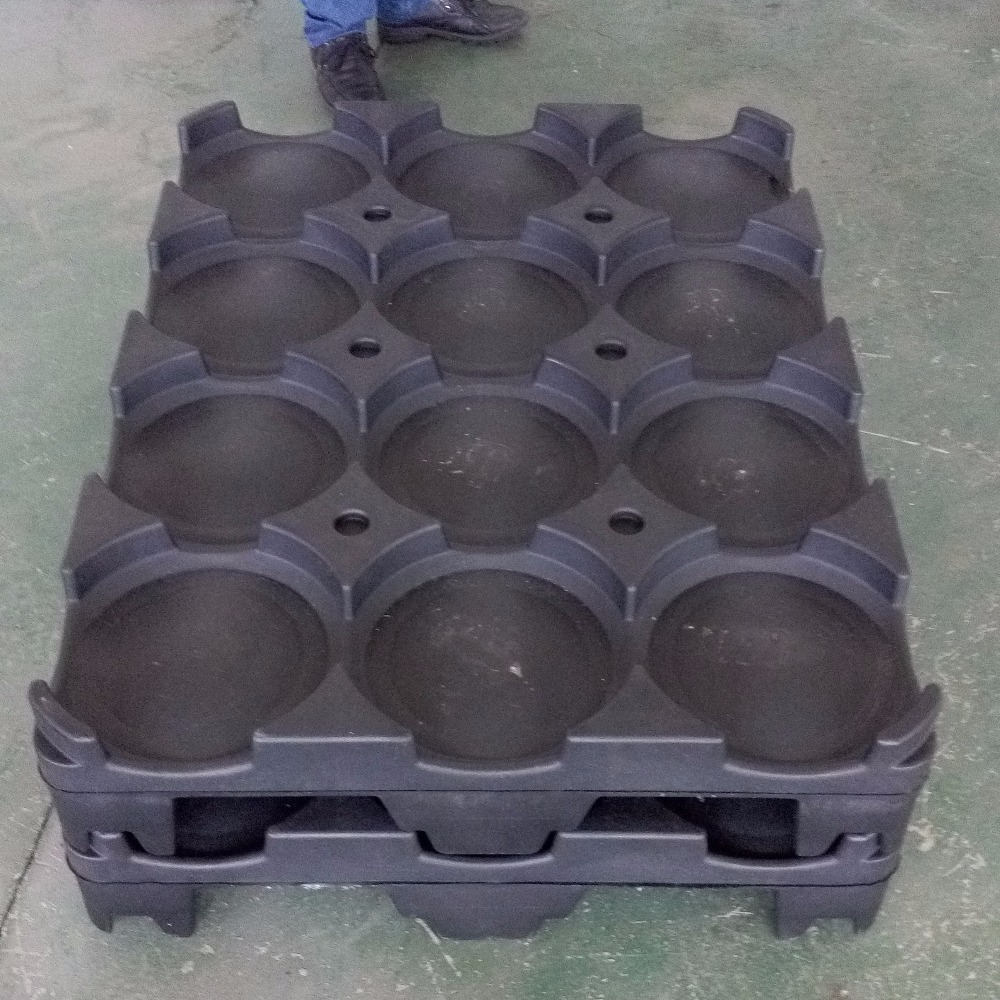 Heavy Duty Stackable HDPE Stacking plastic pallet box