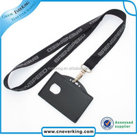 Personalized business lanyard with id card holder