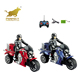 1 10 mini electric rc radio control drift motorcycle for kids