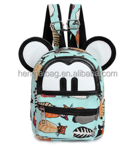 mickey mouse children korean tote bags