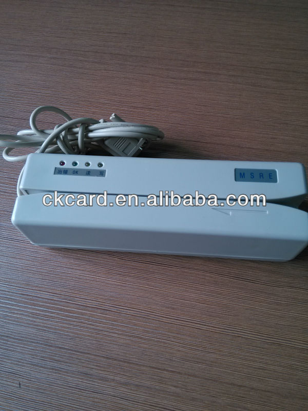 Magnetic swipe card reader (track 1,2,3)