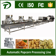 Industrial automatic Mushroom popcorn production line