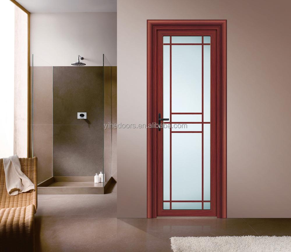 Interior Moderno Puerta Del Baño De Cristal Esmerilado/puerta De ...