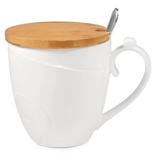 1b77f4346b5 Ceramic Coffee Mug With Bamboo Lid Wholesale, Mug Suppliers - Alibaba