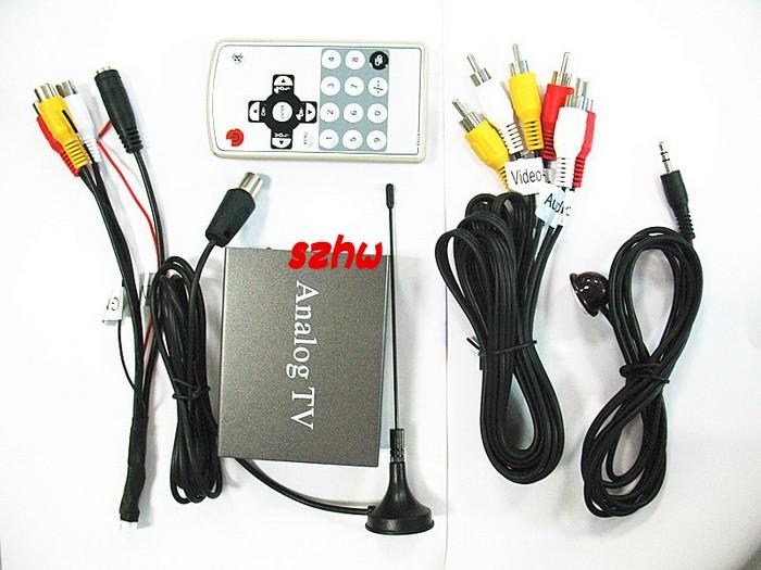 Car mobile Analog tv receiver Car automobile Analong TV BOX 9224 HOT Style