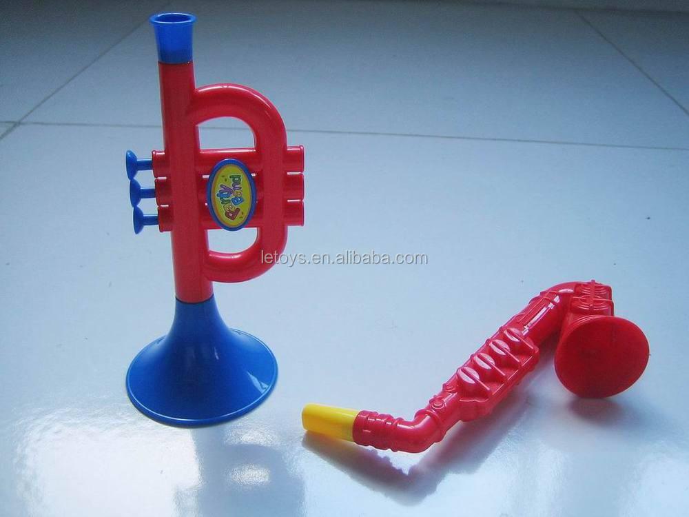 conjunto de juguete trompeta saxofn musical juguetes de plstico para nios trompeta de plstico