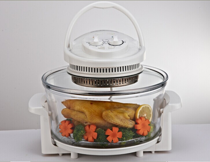Mini Built In Convection Halogen Flavor Wave Turbo Microwave Oven