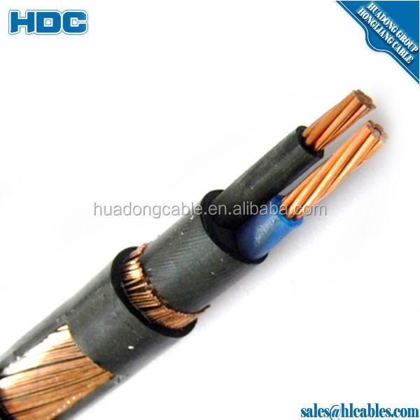 Two Phase Seu Power Cable Copper Service Entrance 2 Core Copper ...