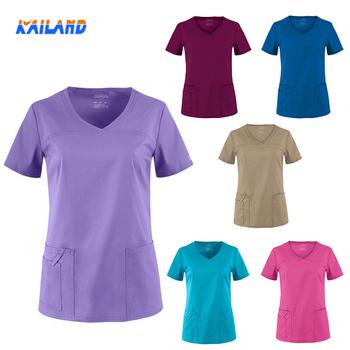 more photos 25080 3eedf Medical Scrub Arbeitskleidung Krankenschwester Krankenhaus Uniformen  Zahnklinik Kurzarm Krankenschwester Arbeitskleidung - Buy Krankenhaus ...