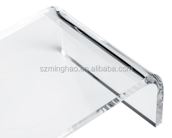 Transparent acrylic laptop stand for notebook PC