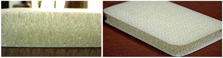 3D Fiberglass Fabric Composite Sandwich Panels