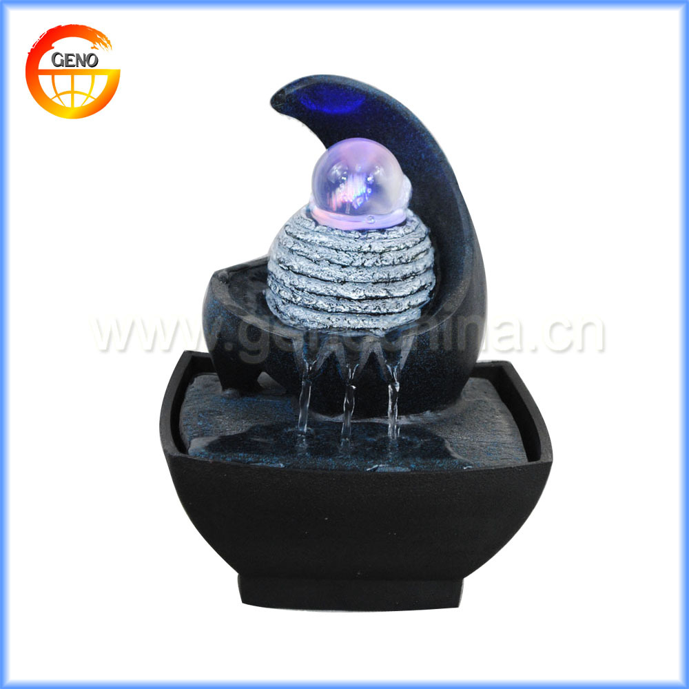 Buddha table top fountain indoor water feature with lightsbrand new buddha table top fountain indoor water feature with lights brand new free post workwithnaturefo