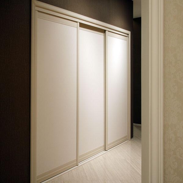 Libre debout oppein moderne armoire 3 portes coulissantes armoire garde ro - Armoire 3 porte coulissante ...