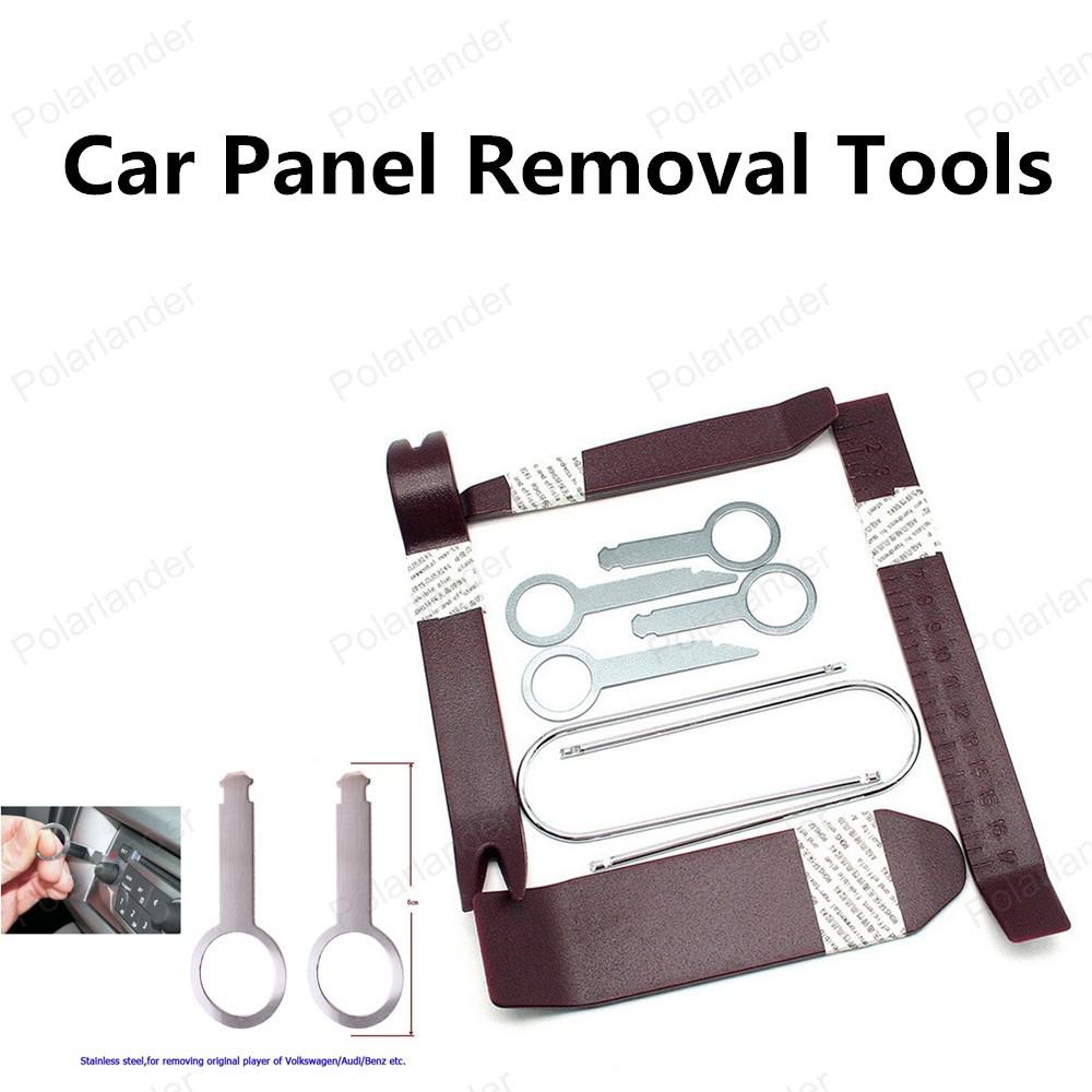 2016 новые ремонт автомобилей комплект инструментов автомобиля средство для удаления панели 10 шт./компл. бесплатная доставка