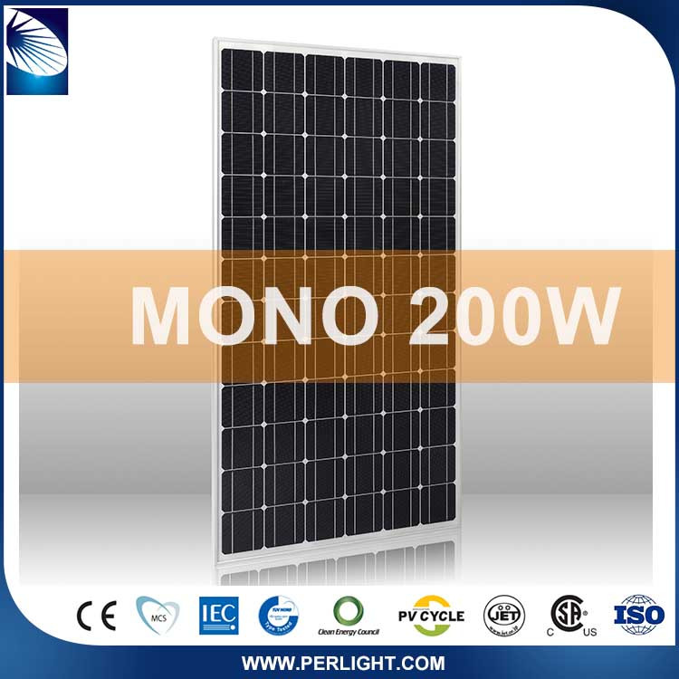 Cheap hot sale top quality 200 Watt Solar Panels