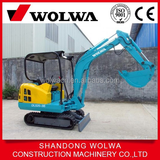 rubber track mini digger are widely used in garden