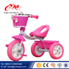 China Car toy riding on metal tricycle for kids /toddlers walker best tricycle for 2 year old children / simple pink baby trike